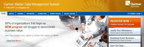 Gartner MDM Summit 2011