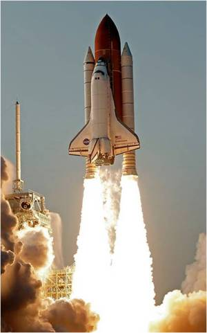 Space Shuttle Takeoff