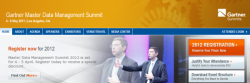 Gartner MDM Summit 2012