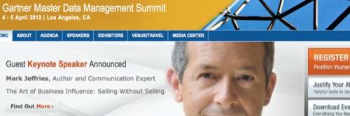 Gartner MDM Summit