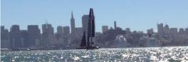 Oracle Team USA In Full Flight