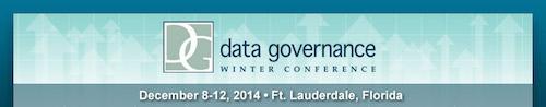 Data Governance Winter Conference 2014