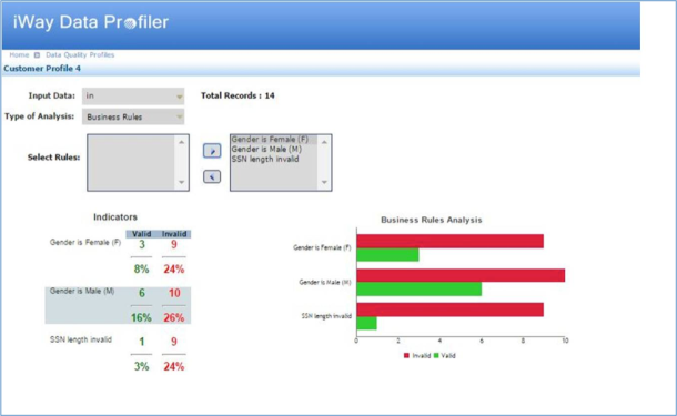 iWay Data Profiler