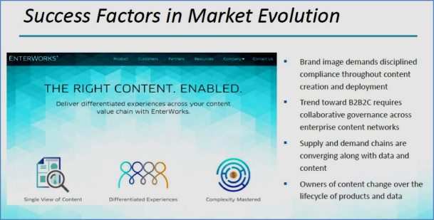 EnterWorks Success Factors in Market Evolution